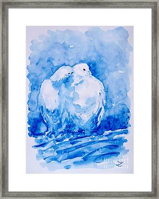 Love  Framed Print by Zaira Dzhaubaeva