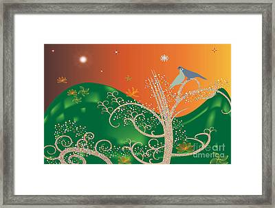 Lovebirds Framed Print by Kim Prowse