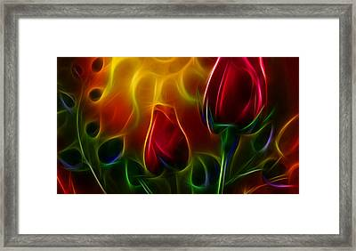 Framed Print featuring the digital art Loved by Karen Showell