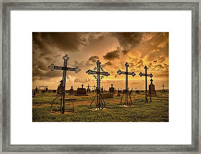 Loved Ones Framed Print by Thomas Zimmerman