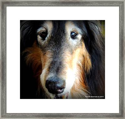 Loved Framed Print