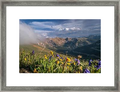 Loveland Pass Summer Framed Print