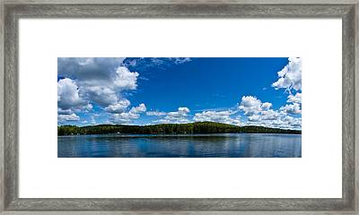 Lovell Lake Afternoon Framed Print