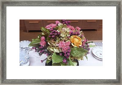 Lovely Bouquet  Framed Print