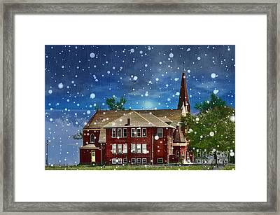Lovely Country Church Framed Print by Liane Wright
