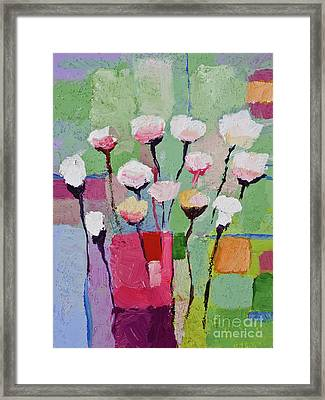 Lovely Flowers Framed Print