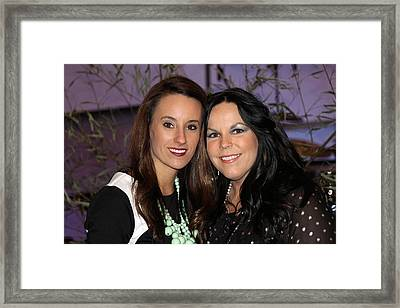 Lovely Ladies Framed Print by Carolyn Ricks