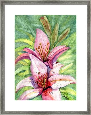 Lovely Ladies Framed Print by Marilyn Smith