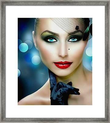 Lovely Lady 1 Framed Print
