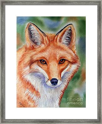 Lovely Lady Framed Print by Patricia Pushaw
