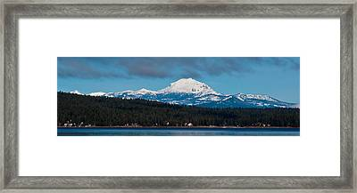 Lovely Lassen  Framed Print by Jan Davies