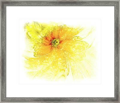 Lovely Lemon Framed Print