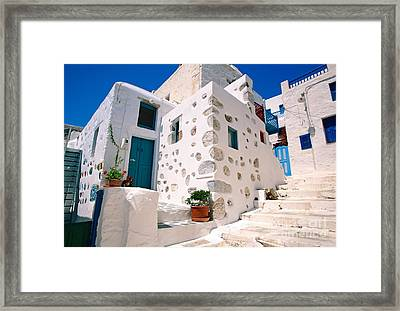 Lovely Outer Wall Framed Print by Aiolos Greek Collections