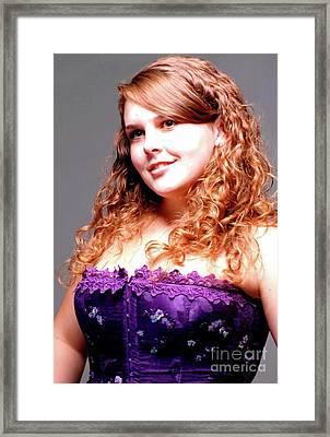 Lovely Rachel Framed Print by Kathleen Struckle