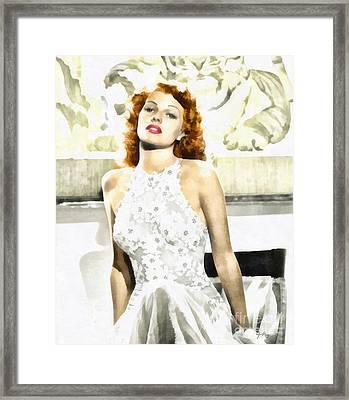 Lovely Rita Framed Print by Mo T