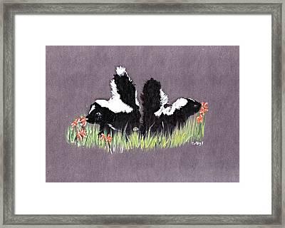 Lovely Scent Framed Print