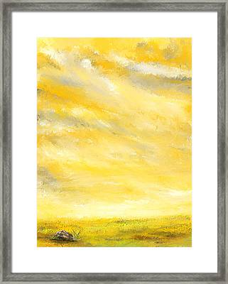 Lovely Sunny Day  Framed Print by Lourry Legarde