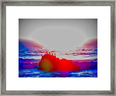 Lovemaking Framed Print