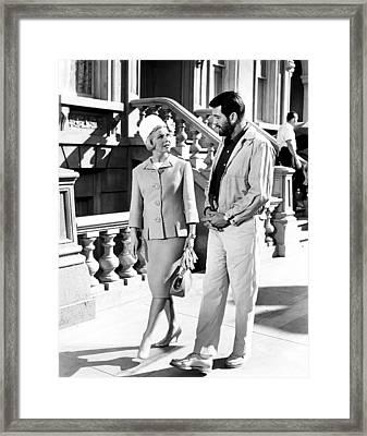 Lover Come Back, From Left, Doris Day Framed Print by Everett