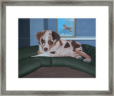 Loverboy Framed Print