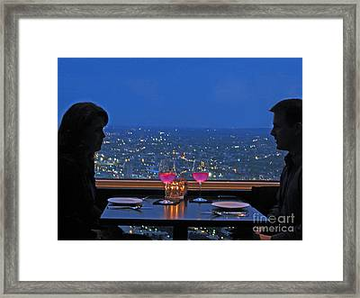 Lovers - Boston Framed Print