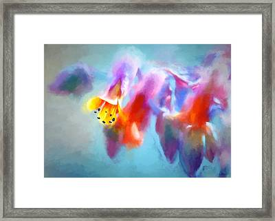 Lovers Bell Framed Print