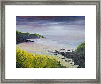 Lovers Cove Kinsale   Framed Print