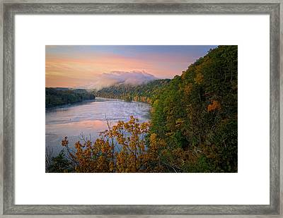 Lovers Leap Sunrise Framed Print by Bill Wakeley