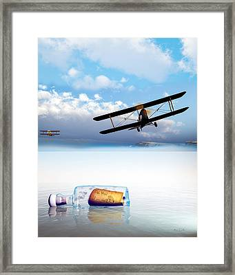 Lovers Lost And Found Framed Print by Bob Orsillo