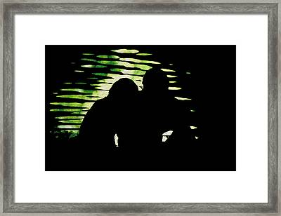 Framed Print featuring the photograph Lovers by Mike Flynn