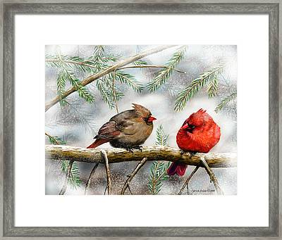 Lover's Quarrel Framed Print by Patrick Belote