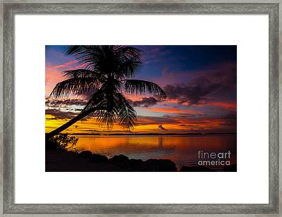Lovers Retreat Framed Print by Rene Triay Photography