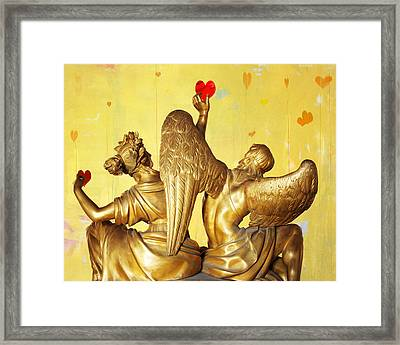Love's Angel  C2014 Framed Print
