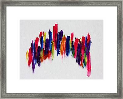 Love's Fiery Path Framed Print by Tom Atkins