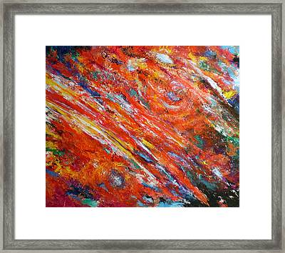 Loves Fire Framed Print by Michael Durst