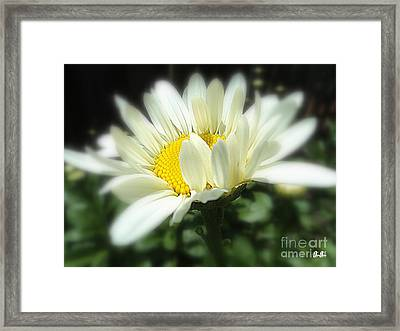 Framed Print featuring the photograph Loves Me by Geri Glavis