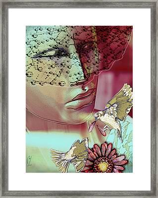 Loves Me Loves Me Not Framed Print