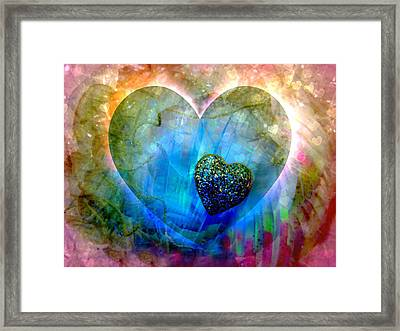 Love's Sighs Framed Print by Shirley Sirois