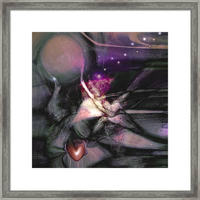 Lovescope Framed Print by Linda Sannuti