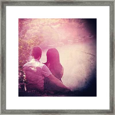 Lovestrong Framed Print by Trish Mistric