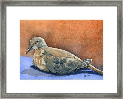 Lovey Dovey Framed Print by Marsha Elliott