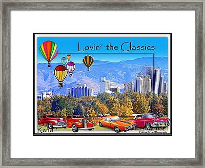 Lovin The Classics Framed Print