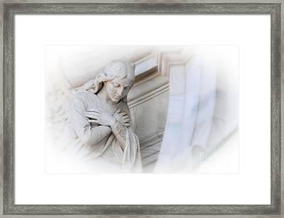 Loving Angel Framed Print by Kathleen Struckle