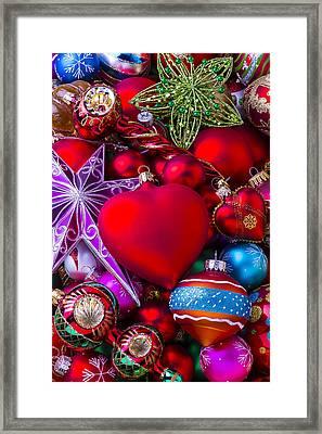 Loving Christmas Framed Print