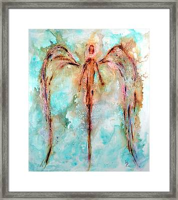 Loving Guardian Framed Print by Ivan Guaderrama