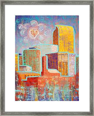 Loving It In Denver Framed Print