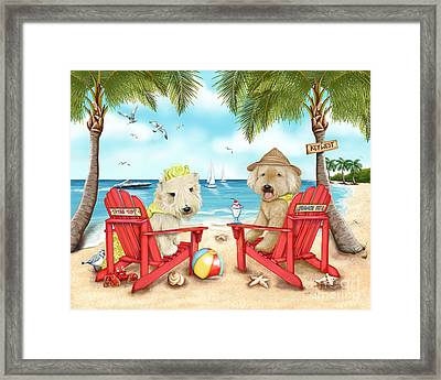Loving Key West Framed Print