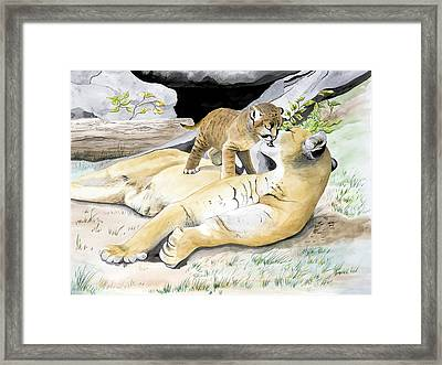 Loving Moment Framed Print