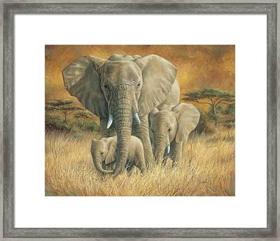 Loving Mother Framed Print