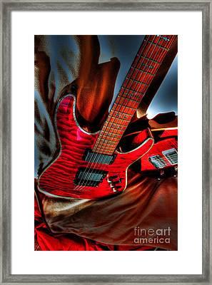 Loving Red By Steven Langston Framed Print by Steven Lebron Langston